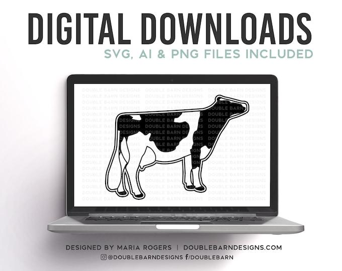 Dairy Cow Digital Download