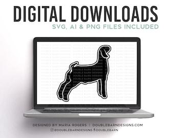 Market Goat Profile Digital Download