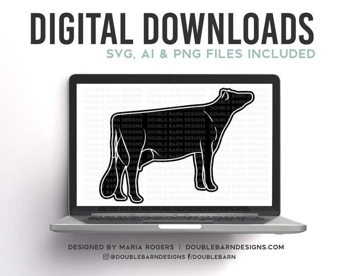 Jersey Cow Digital Download