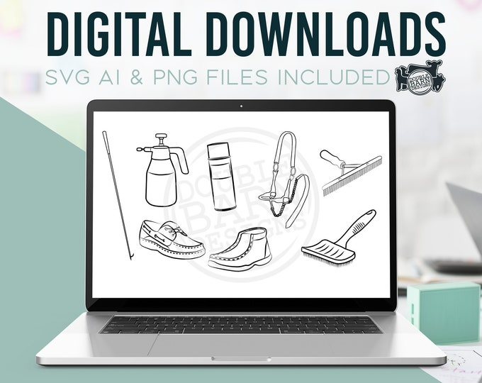 Stock Show Items - AI - SVG - PNG - Digital Downloads