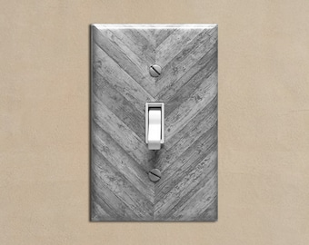Wood Light Switch Cover Etsy