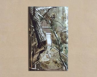 Camouflage 1 Camo   Light Switch Plate Covers Home Decor Outlet