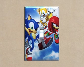 Sonic the Hedgehog 2 - Light Switch Plate Covers Home Decor Outlet