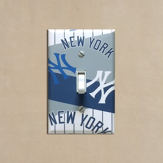 Made to Order New York Yankees Decorative Decoupage Light Switch Covers