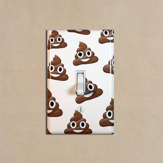 EMOJIS PATTERN Light Switch Covers Home Decor Outlet MULTIPLE OPTIONS