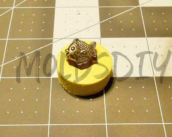 Fish Mold / Flexible Push Mold / Silicone Mold / Fondant Mold / Polymer Clay Mold / Resin Mold / Food Safe Mold / MOLD #115