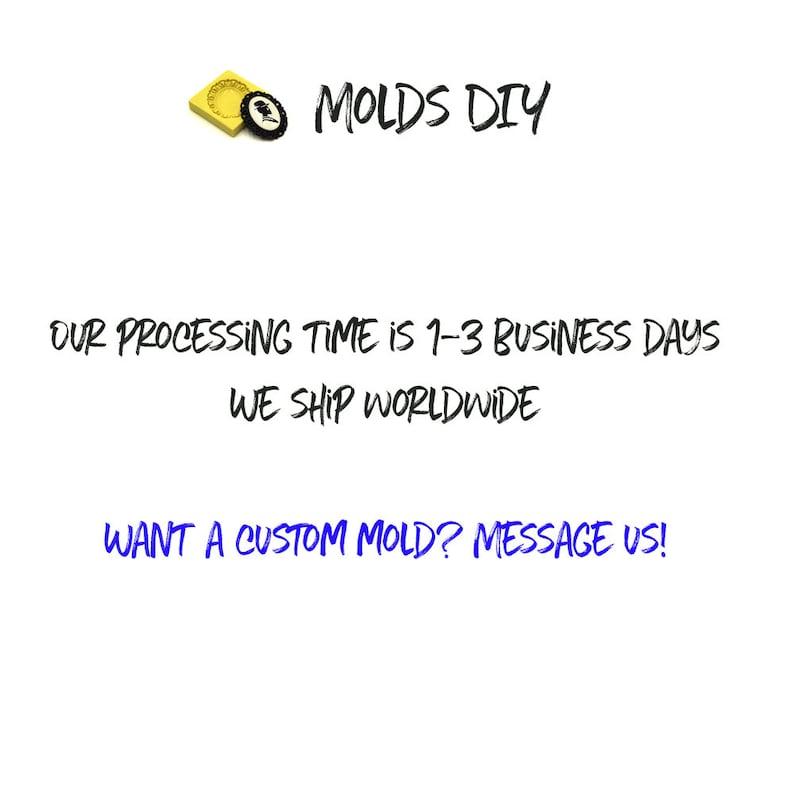 Octopus Cameo   Flexible Push Mold  Silicone Mold  Fondant Mold  Polymer Clay Mold  Resin Mold  Food Safe Mold  MOLD #23