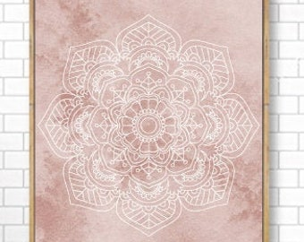 Unframed Namaste Definition Print Yoga Spiritual Meditation Wall Art New Age Zen Wall Art