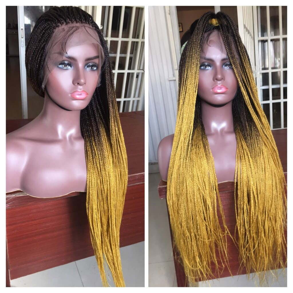 READY TO SHIP*Full Lace Braided Wig Braids