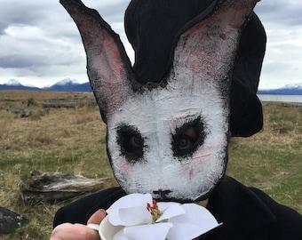 Creepy Rabbit Mask Etsy
