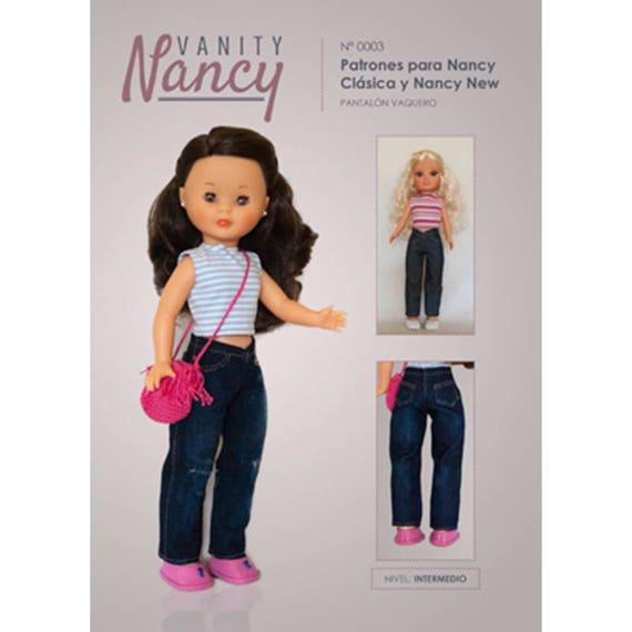 Patrón PDF Pantalón vaquero para Nancy Nº0003