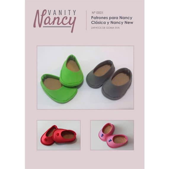 Patrón y tutorial en PDF de zapatos de goma eva para Nancy de | Etsy