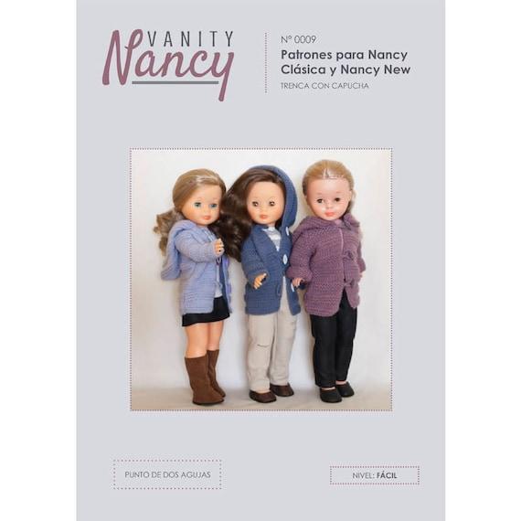 Patrón descargable de chaqueta con capucha para Nancy en punto   Etsy