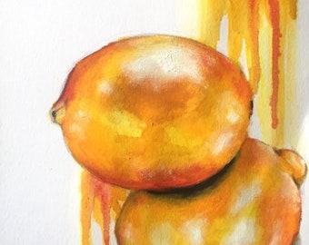 Orange Lemon Drips (6th June 2018)
