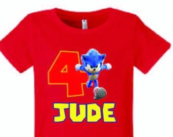 Sonic The Hedgehog /Émotions H/érisson T-Shirt Enfant
