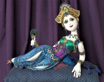 """LA MODE ORIENTALE costume pattern for """"La Femme"""""""