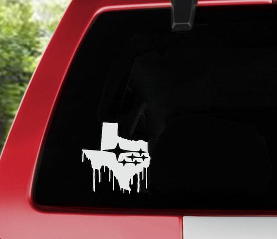 Forester Impreza WRX STi Vinyl Decal Car Truck Texas Subaru Sticker
