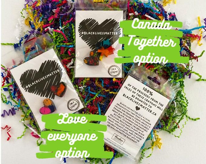 Featured listing image: BLM #BlackLivesMatter Crayons - 100% of proceeds donated to BlackLivesMatter.ca
