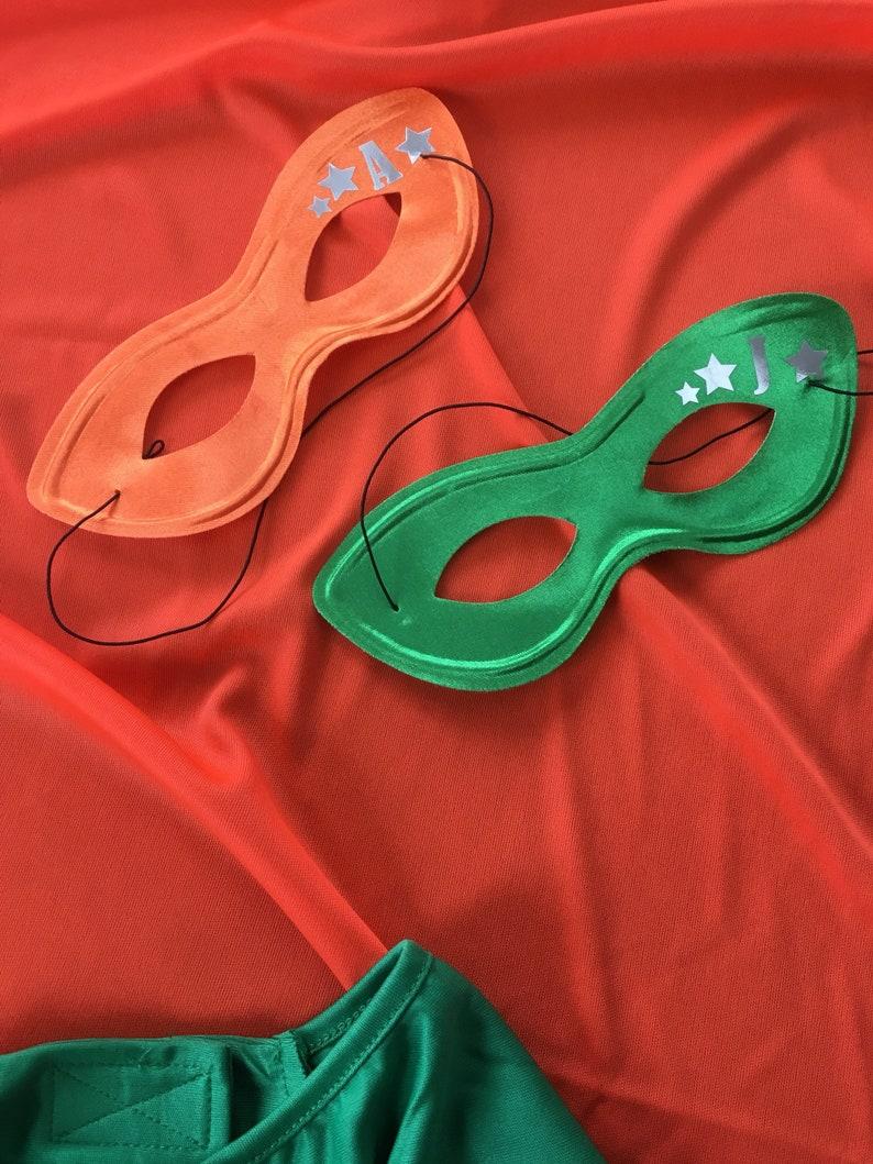 Custom Superhero Mask  Customized with your little superheros image 0