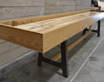 Swell Shuffleboard Table Etsy Download Free Architecture Designs Sospemadebymaigaardcom