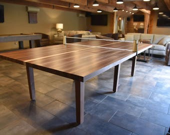Dining Pool Table Etsy - Pool table conference table