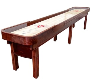 Fine Shuffleboard Table Etsy Download Free Architecture Designs Sospemadebymaigaardcom