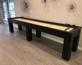 Shuffleboard Etsy - Portable shuffleboard table