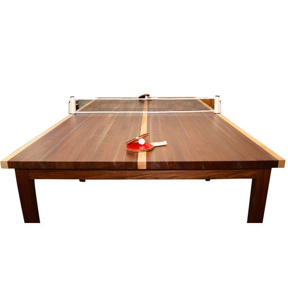 Custom Wood Ping Pong Table Table Tennis Table Conference Table 2 In 1  Dining And Table Tennis Table With Retractable Net
