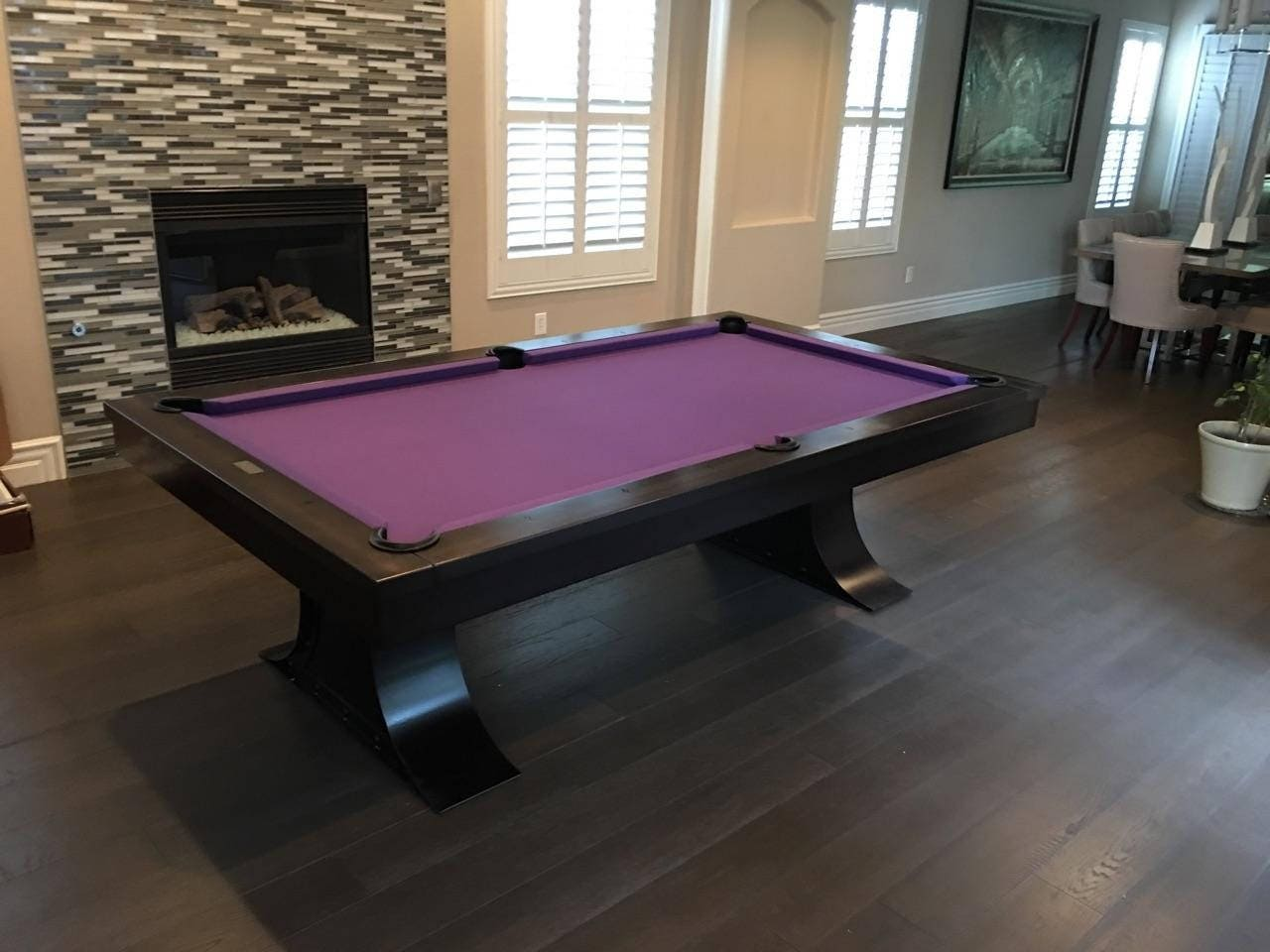 Xane Steel Pool TableIndustrial FurnitureRestoration Hardware - Restoration hardware pool table
