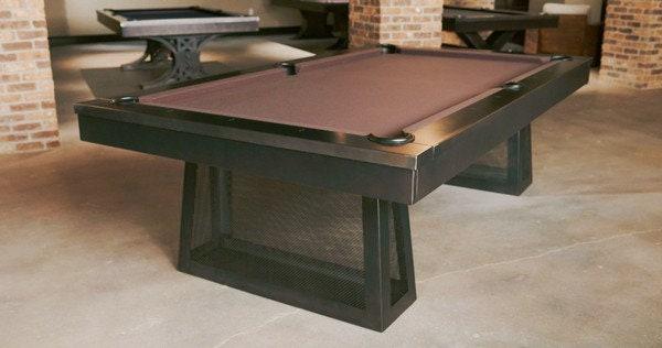 Metal Pool TableModern Pool TableGame TablesMid Century Furniture - Mid century modern pool table