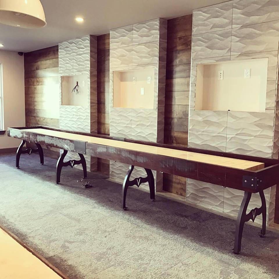 Custom Shuffleboard Table-Designer Shuffleboard Game Table