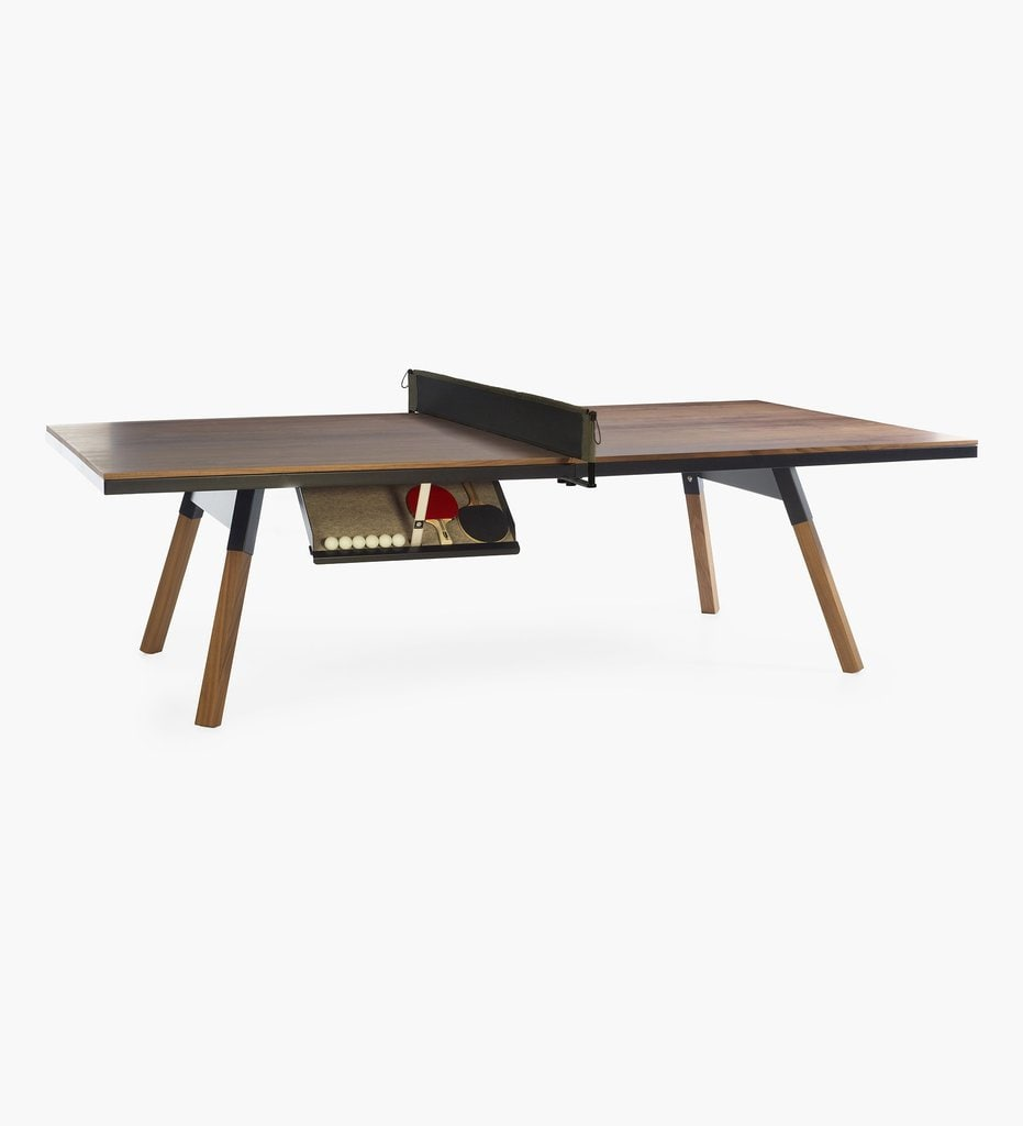 Walnut Table Tennis Table Dining Table Ping Pong Game