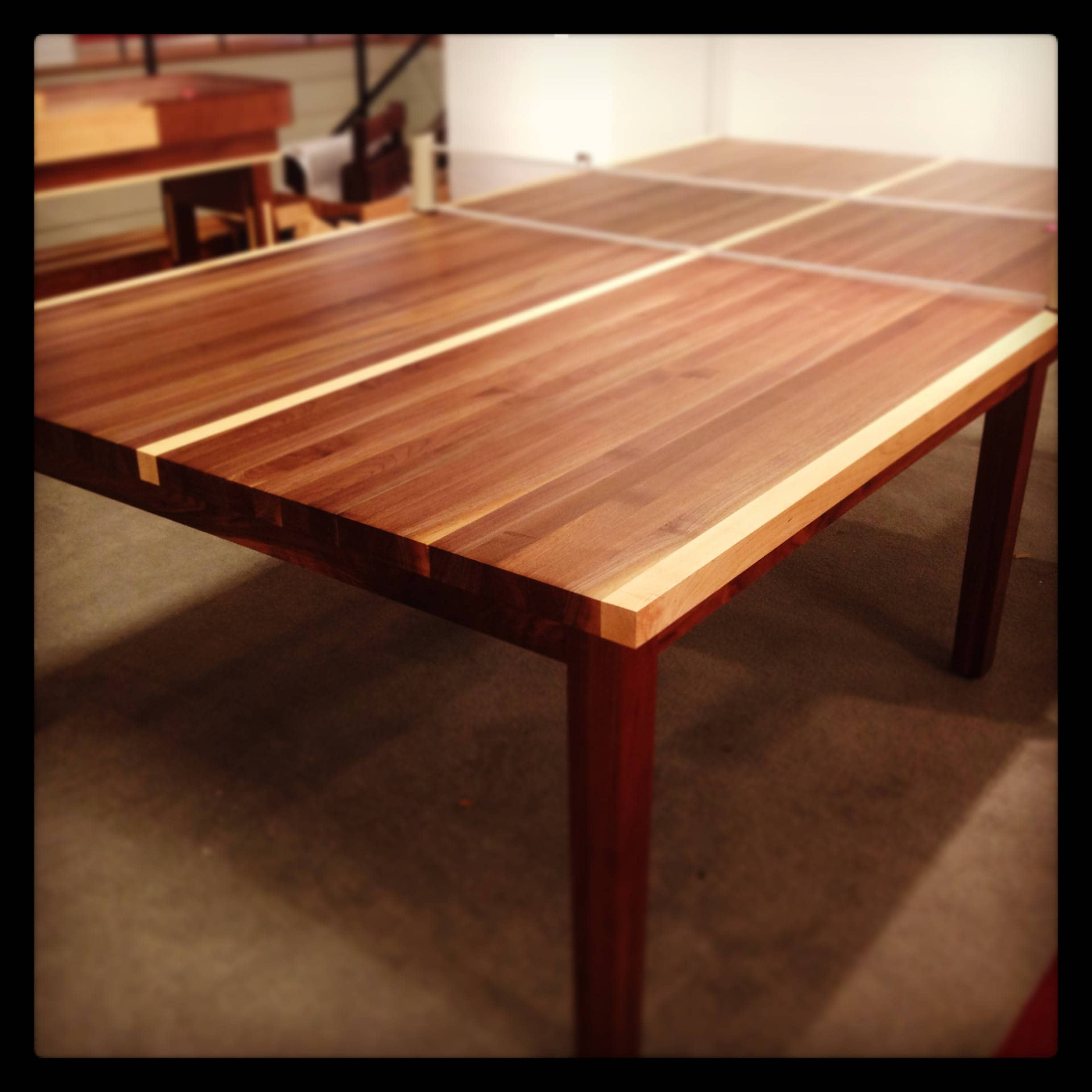 Custom Wood Ping Pong TableTable Tennis TableConference Tablein - Table tennis conference table