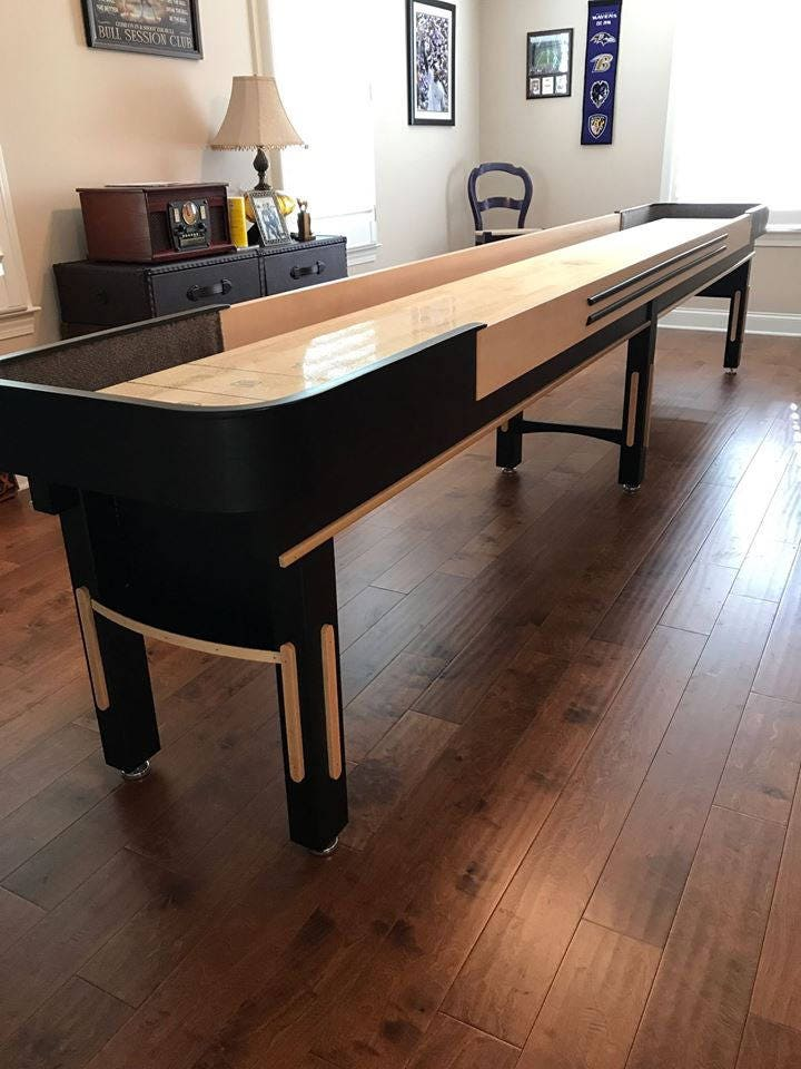 Gift For Men Shuffleboard Table Entryway Table Bar Furniture Game  Room Farmhouse Furniture Pool Tables Man Cave  Billiards Office Furniture
