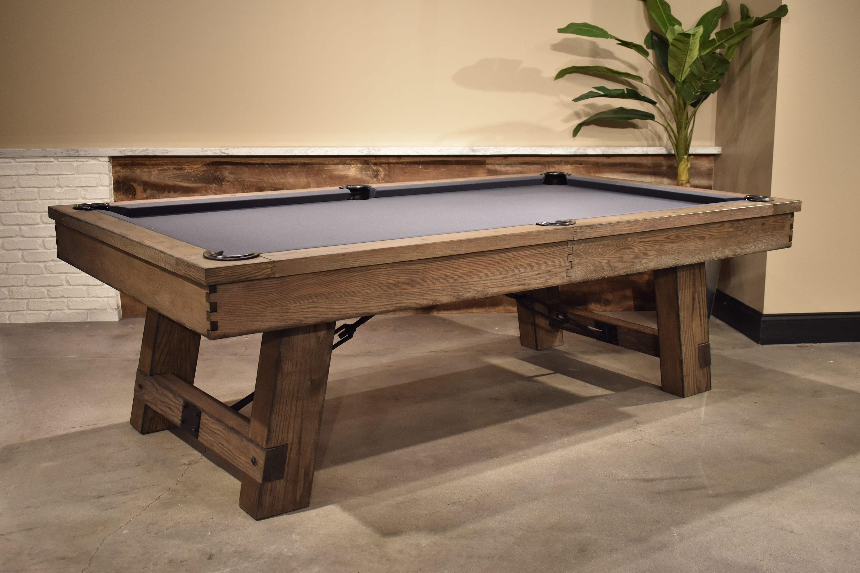 Reclaimed Pool TableOak Wood DesignGame TablesModern Farmhouse - Rustic modern pool table