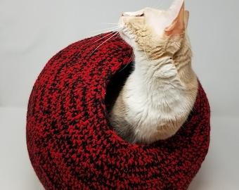 Cat Pod Crochet Pattern ©