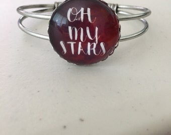 Oh My Stars Cress The Lunar Chronicles Inspired Cuff Bracelet