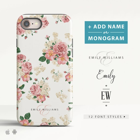 iphone 8 case personalised name