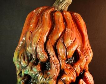 Rotten Reggie Latex Pumpkin Mask