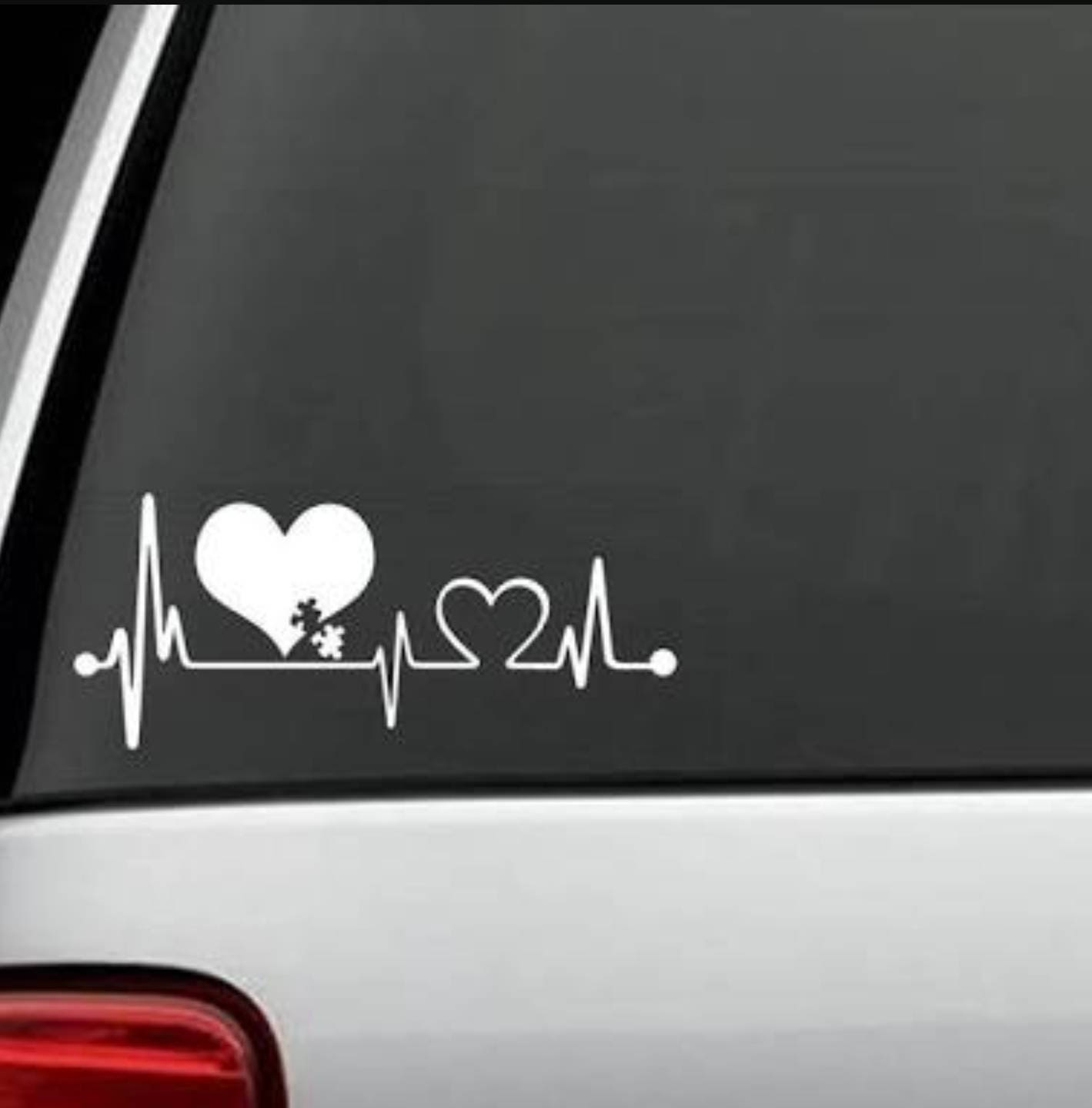I LOVE SOMEONE WITH AUTISM #8 Vinyl Decal Car Truck Window Office Wall Laptop