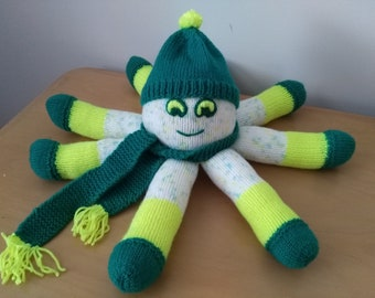 Hand Knitted OCTOPUS