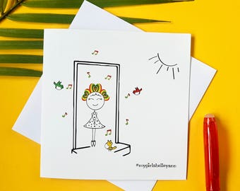 Cards for Friends, Blank cards, Greeting cards, Urban cards, Cultural cards, Cute cards, Fun greeting cards, Stickfigures