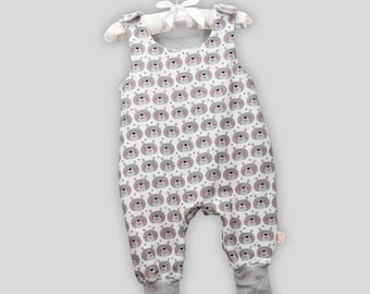 Baby romper bear with snaps