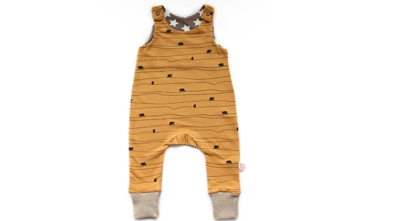 Baby romper ' bear path ' in image 0