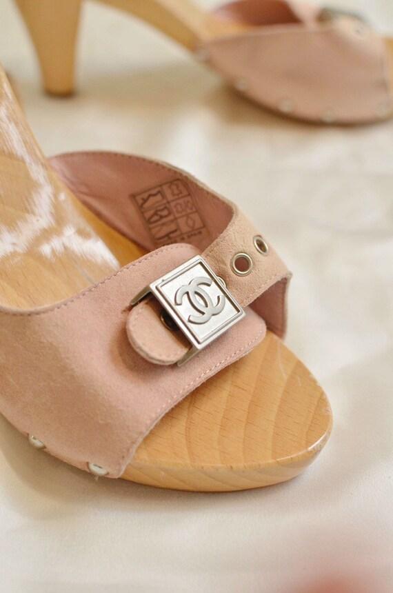 Authentique Chanel Clogs