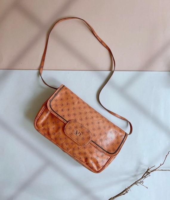 Vintage 80s - VALENTINO GARAVANI handbag - Brown L