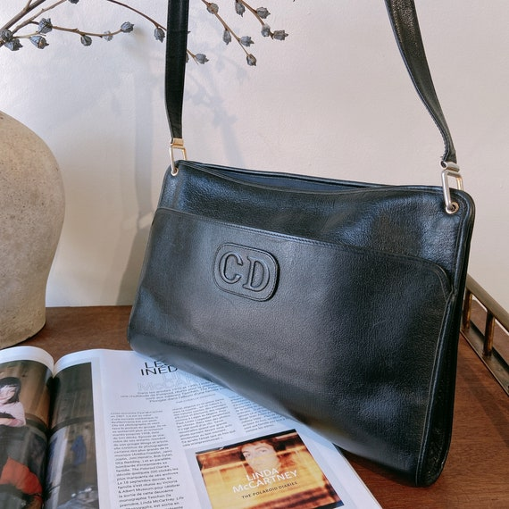 CHRISTIAN DIOR - Authentique Vintage Shoulder Bag
