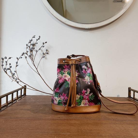 Vintage KENZO floral bucket bag