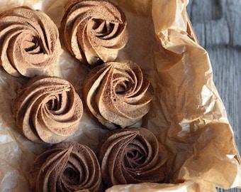Almond Chocolate Natural Delicious  Marshmallows   Soap