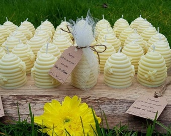 Wedding favours,wedding candle favours,personalised favours,rustic candle favours, meant to bee favours